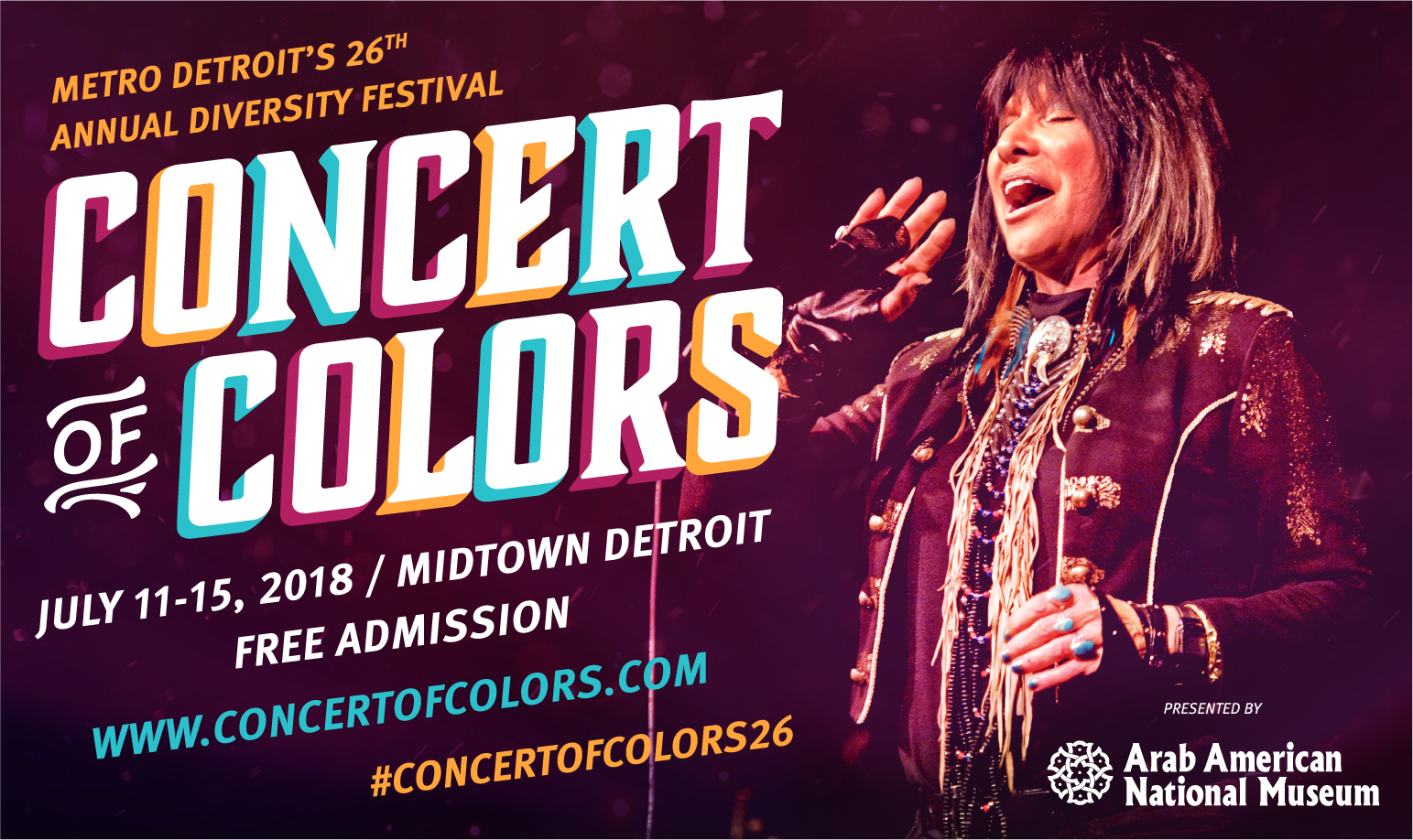 26th Concert Of Colors Set For July 11 15 2018 Access