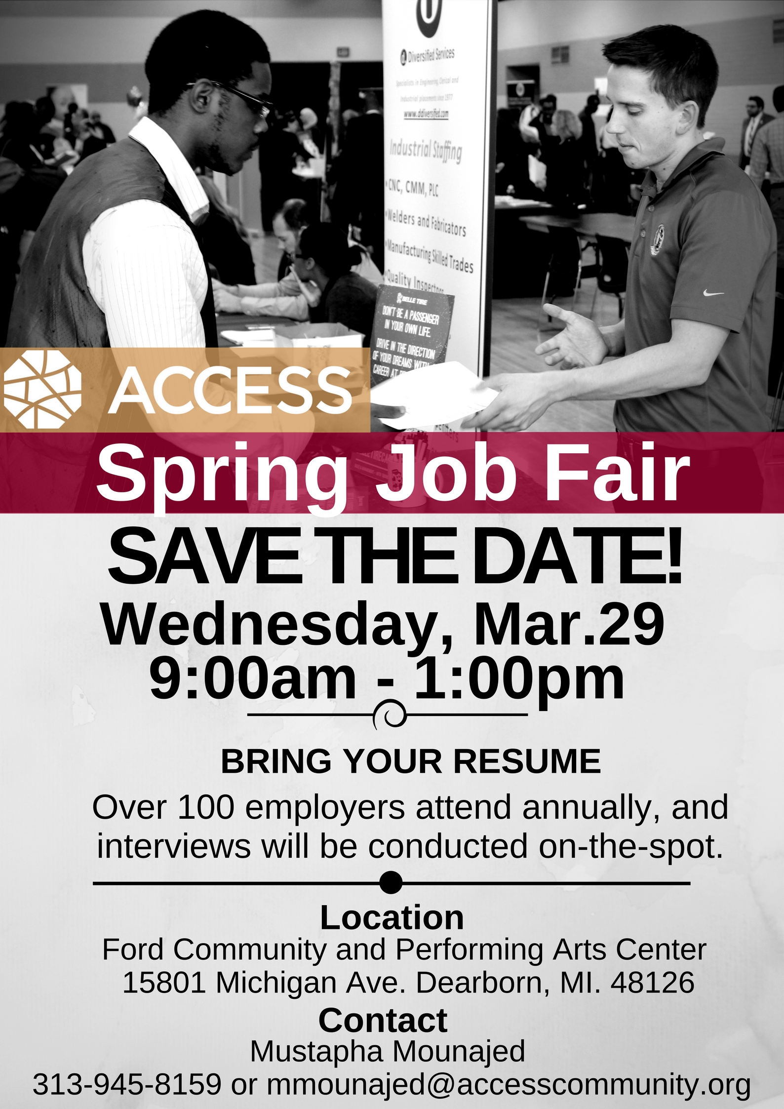 what to bring to a job fair