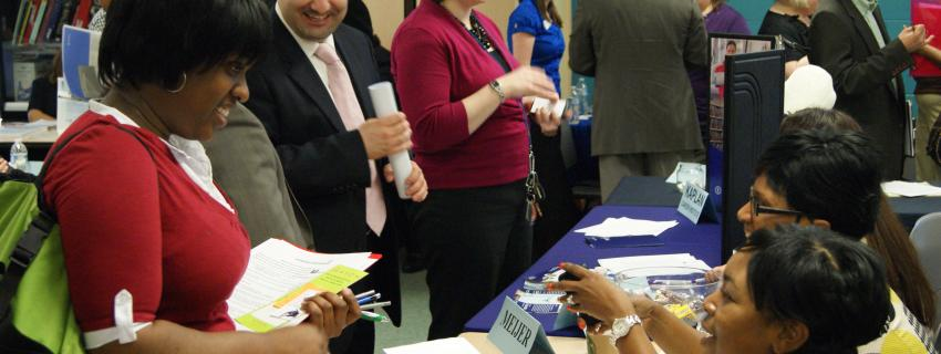 Job seekers receive employment information with the help of ACCESS services.