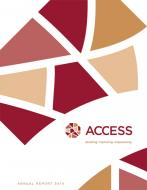 Cover image of ACCESS 2010 Annual Report.